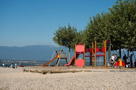 Plage d'Hermance  - Photo © Geneva Tourism