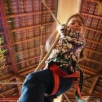 Climbing is fun ! © Family Village