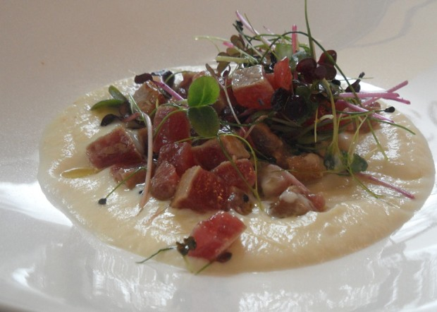 Tuna tartare © Geneva Family Diaries
