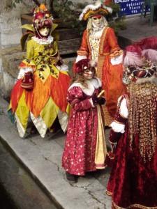 Venetian Carnival in Annecy © Geneva Family Diaries
