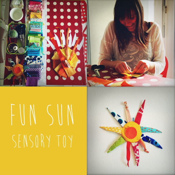 Design a sensory toy for your child © Baby + Making playgroup, Geneva