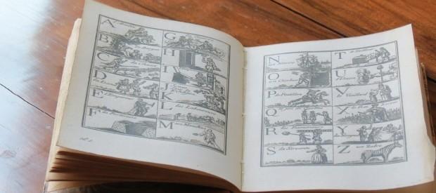 An authentic 18th century spelling-book for children - photo © genevafamilydiaries.net