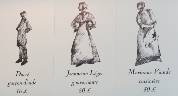 The real names and salaries of the staff at Prangins Castle - photo © genevafamilydiaries.net