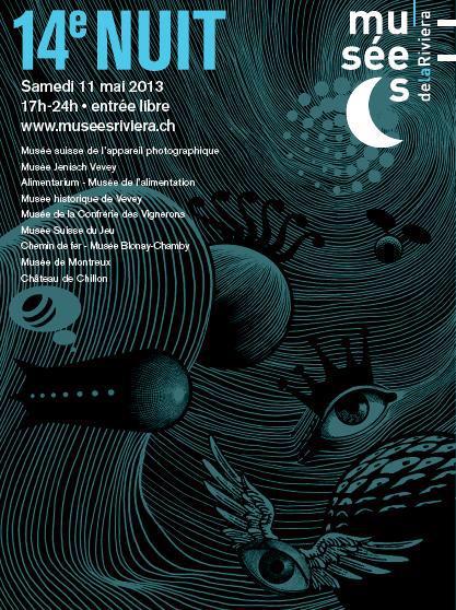 14e Nuit des Musées © Association des Musées de la Riviera vaudoise 2013
