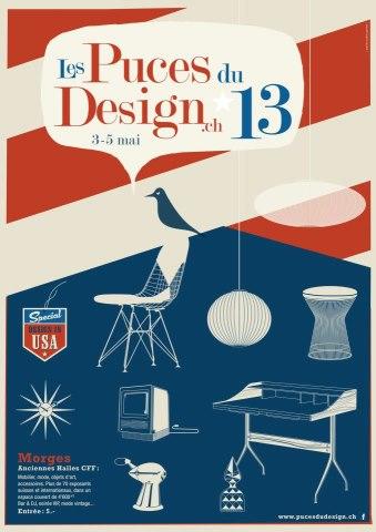 © Les puces du design, Morges