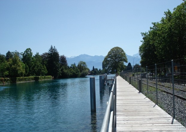 The Thun boardwalk © Travelita.ch