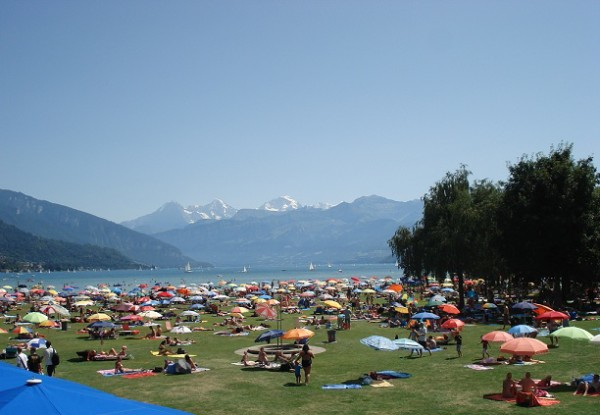 Thun Lido is great fun! © Travelita.ch
