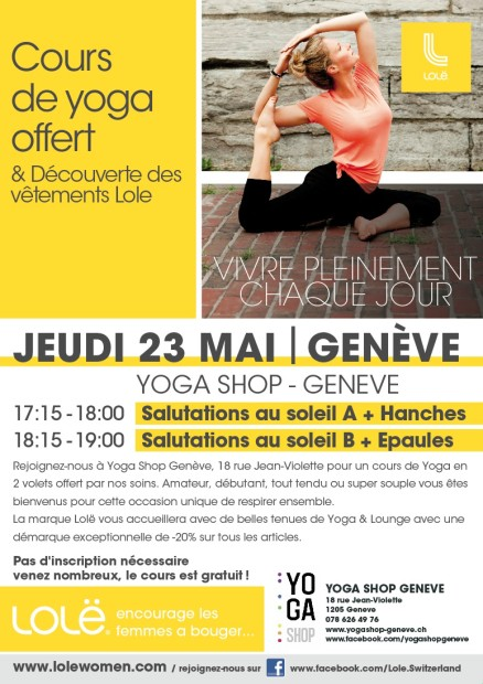 Lole Geneve may23