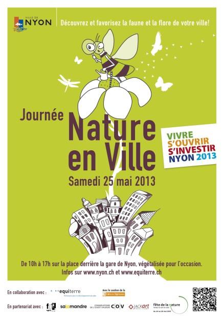 © Journée «Nature en ville» à Nyon, 2013