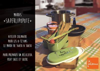 """Mardi """"saperlipopote"""" La Julienne, Plan-les-Ouates © Café Julienne"""