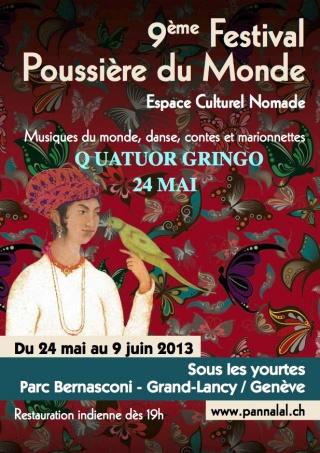 © 9ème Festival Poussière du Monde, Parc Bernasconi Geneva