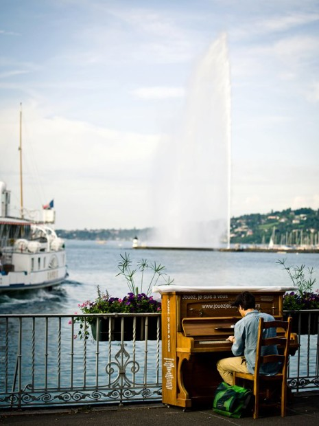 Play me, I'm yours Geneva - Photo © Sebastien Puiatti