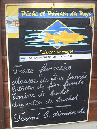 Buy directly from the fishermen on rue des Pecheries in Nyon © genevafamilydiaries.net