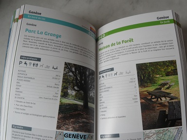 Loisirs'ch guidebook to the best picnic spots in the Suisse romande