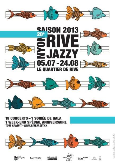 © 2013 Rive Jazzy Festival, Nyon