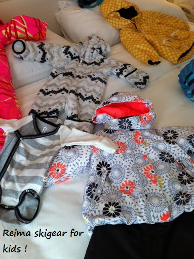 Gorgeous Reima winter gear for kids & little babies