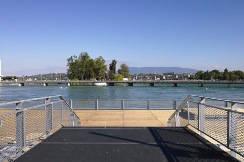 Pont de la Machine, Geneva © Ville de Genève