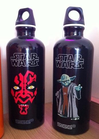 SIGG Star Wars water bottles