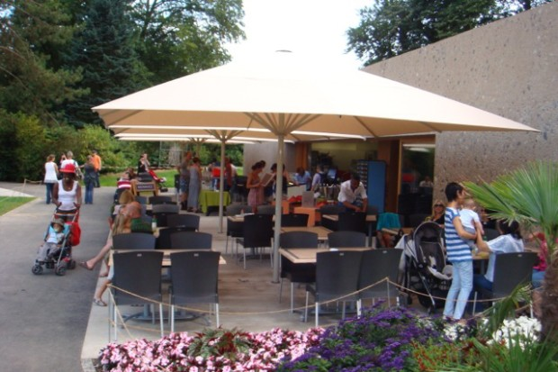 Sunday brunch at Le Pyramus restaurant, Geneva © Le Pyramus, Jardin Botanique