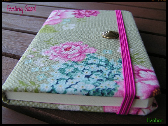 Feeling Good © Lilabloom handmade notebooks