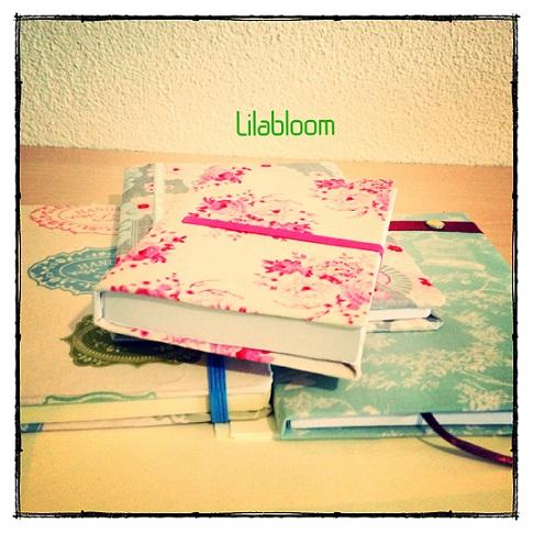 © Lilabloom handmade notebooks