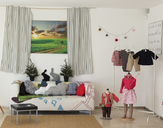 The Atila 4 Child showroom in Bursins (VD) - photo © genevafamilydiaries.net