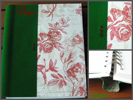 Poem © Lilabloom handmade notebooks
