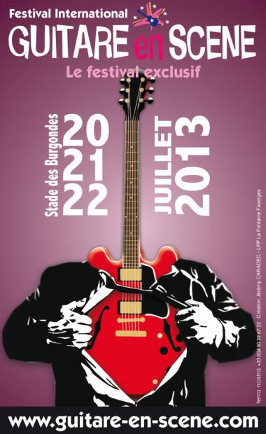 © 2013 Guitare en Scene, St Julien-en-Genevois (France)