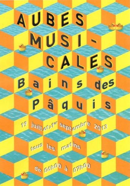 Aubes Musicales © Bains des Pâquis, Geneva