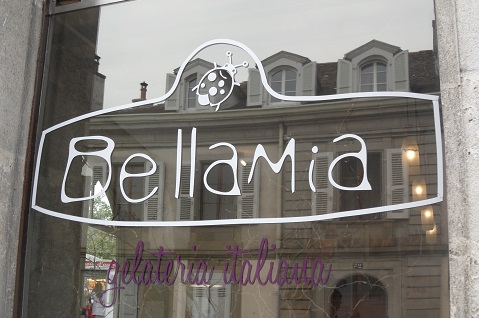 Gelateria Bellamia, Carouge © genevafamilydiaries.net