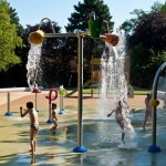 Parc de l'Auberge, Meyrin - Photo © Atelier d'Ici Architectes