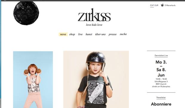 Zirkuss online © Zirkuss