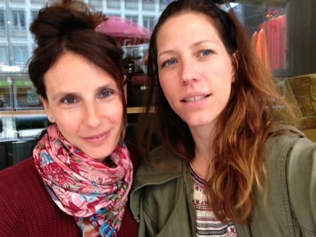 Mumpreneurs and Zirkuss founders Patrizia & Lucia © Zirkuss