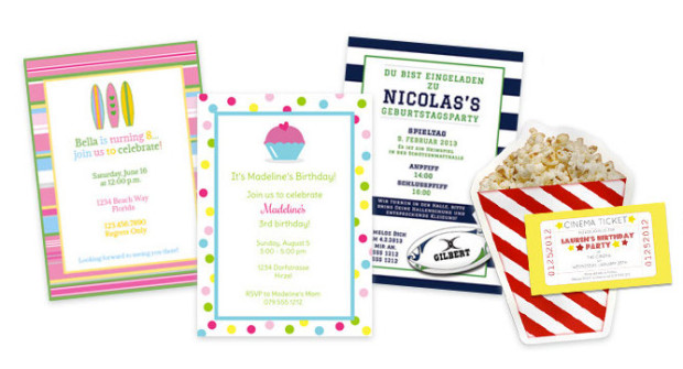 Party invitations © Paper & Party Love