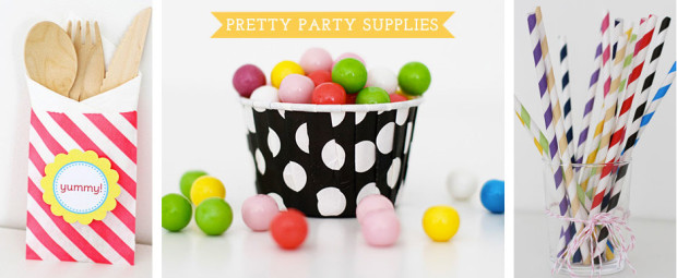 Party supplies to dream of ! © Paper & Party Love