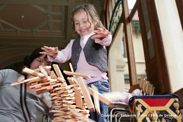 6e édition d'une Journée de jeux en famille - Plainpalais, Geneva © Fabienne Muller/Ville de Genève