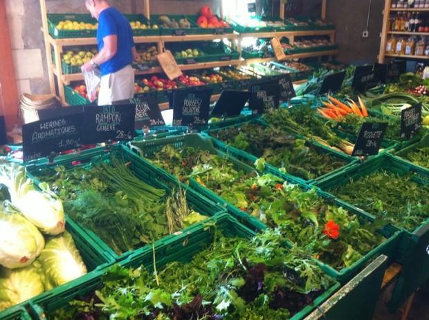 Fresh, local produce by Funky Brunch's supplier: la Ferme de Budé - Petit Saconnex GE