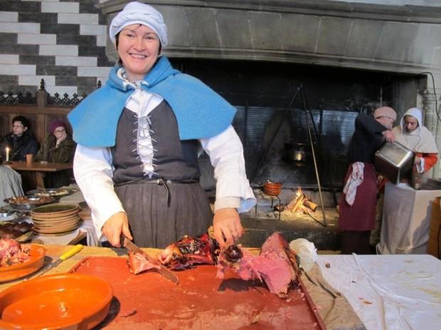 Medieval Market at Chillon Castle © Montreux Noël