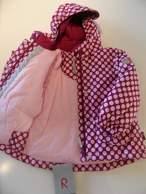 The Reima Minnie R-tec Jacket: soft & fleecy on the inside - photo © genevafamilydiaries.net