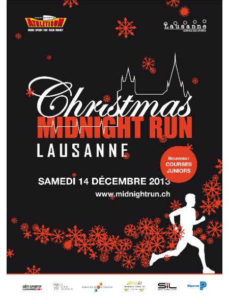 © Christmas Midnight Run Lausanne