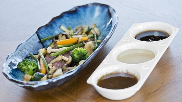 Boeuf wagyu, légumes de saison - photo © Four Seasons Hotel des Bergues Geneva