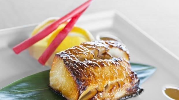 Black cod Yuzu Miso - photo © Four Seasons Hotel des Bergues Geneva