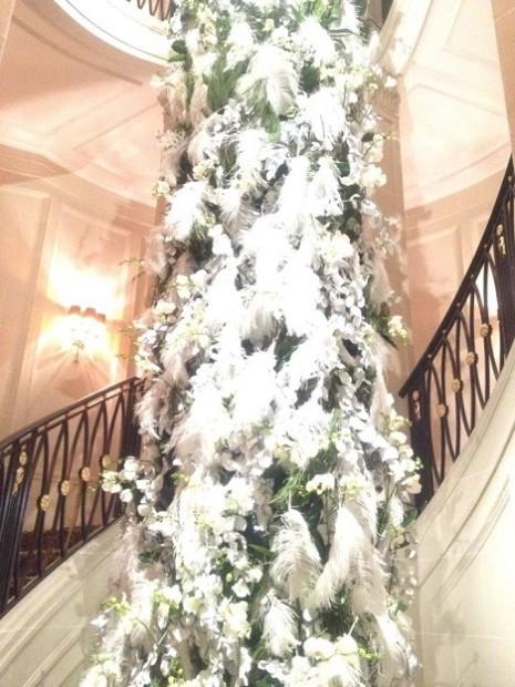 More Xmas decorations at the Four Seasons Hotel des Bergues Geneva © genevafamilydiaries.net