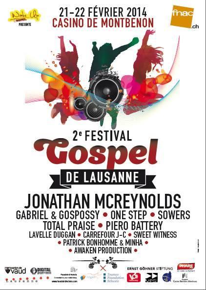 © 2014 Festival Gospel de Lausanne