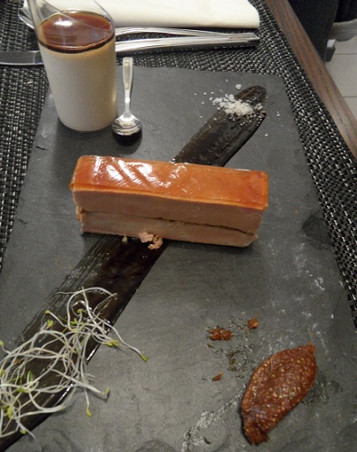 Foie-gras millefeuille -photo © genevafamilydiaries.net