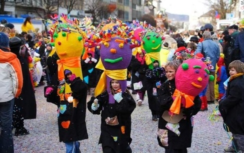Carnaval des enfants - photo © La Gruyère Tourisme