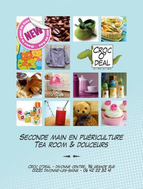 © CrocO' deal Coffee, Divonne-les-Bains.
