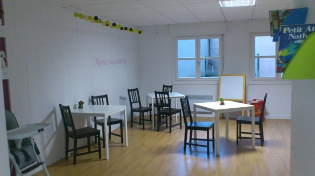 Plenty of space for birthday parties & classes - Photo © CrocO' deal Coffee, Divonne-les-Bains.