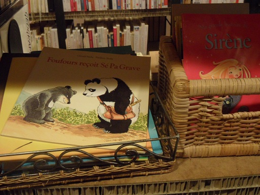 Check out their selection of kids titles! Photo © genevafamilydiaries.net