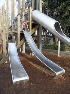 Ouchy playground, Lausanne - photo © genevafamilydiaries.net
